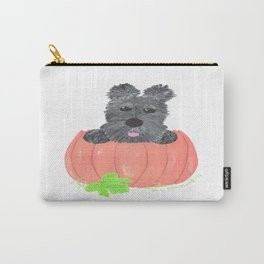 SO WHERE'S THE PIE - Scottish Terriers Carry-All Pouch