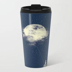 THE BOY WHO STOLE THE MOON Metal Travel Mug