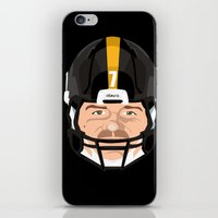 pittsburgh iPhone & iPod Skins featuring Faces- Pittsburgh by IllSports