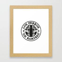 Los perros de Ramírez Framed Art Print