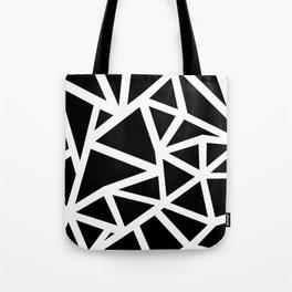 Ab Outline Thicker Black Tote Bag