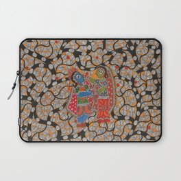 Radha Krishna Laptop Sleeve
