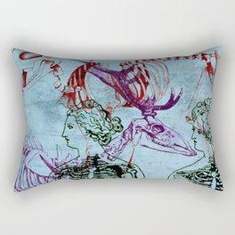 Our Young Bones Rectangular Pillow