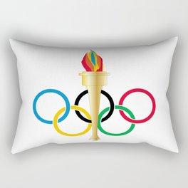 Olympic Rings Rectangular Pillow