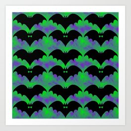 Bats And Bows Art Print