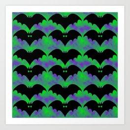 Bats And Bows Art Print