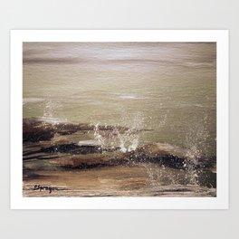 Coastal Spritz Art Print
