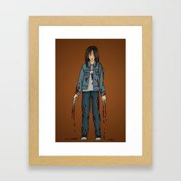 Laura Kinney - x23 Framed Art Print