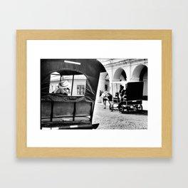 Chilling out Framed Art Print