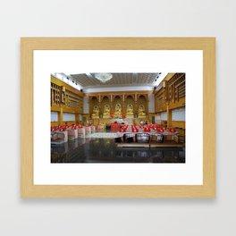 Budhist Temple1 Framed Art Print