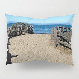 Footprints to the Beach Pillow Sham