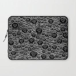 Calaveras (black background) Laptop Sleeve