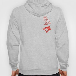 Blue Jay - Home Red Hoody