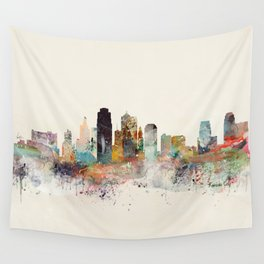 kansas city missouri Wall Tapestry