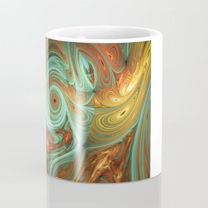 banana meets carrot in smoothie Coffee Mug