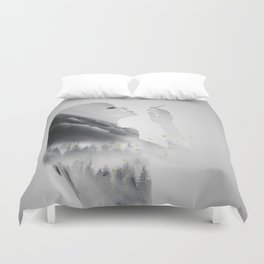 Enjoying the ephemeral Duvet Cover
