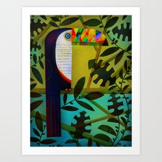 CONSPICUOUS BEAK Art Print