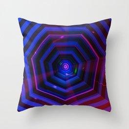 Heptagon Throw Pillow