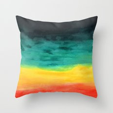 Darkness in the Horizon Throw Pillow