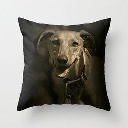Smile Everyday Throw Pillow