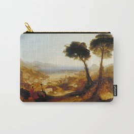 """J.M.W. Turner """"The Bay of Baiae, with Apollo and the Sibyl"""" Carry-All Pouch"""