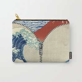 Mt. Fuji and the Wave Carry-All Pouch