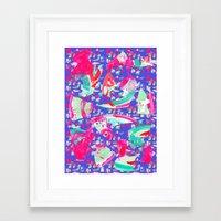 fancy Framed Art Prints featuring Fancy by Caroline Sansone