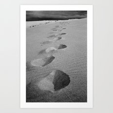 Steps to nowhere Art Print