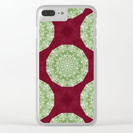Christmas Dream Clear iPhone Case
