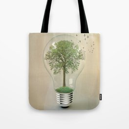 green ideas 02 Tote Bag