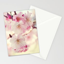 cotton candy flowers Stationery Cards