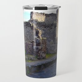 Pompeii Ancient Dwelling - 2 Travel Mug