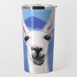 Llama Yama Smiling Travel Mug
