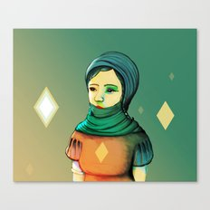 Diamond Girl II Canvas Print