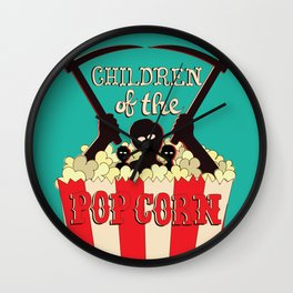 Children of the Popcorn Wall Clock