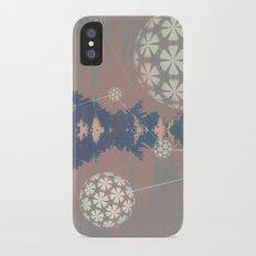 Natural Grid iPhone X Slim Case