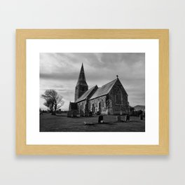 The Parish Church of All Saints Framed Art Print