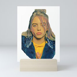 Billie Eilish Artwork Ocean Eyes Mini Art Print