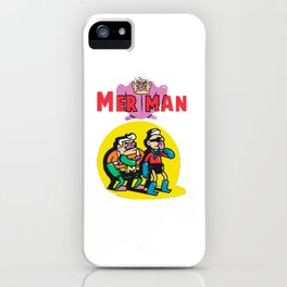 Merman iPhone Case