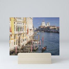 VENICE Canal Grande & Santa Maria della Salute Mini Art Print
