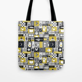 Esoteric Charm Midnight Tote Bag