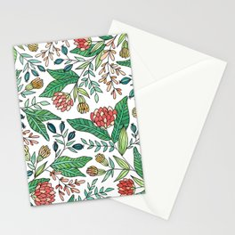 Wildflower Pattern - Full Color Stationery Cards