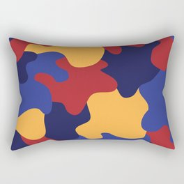Blob of Camouflage Rectangular Pillow