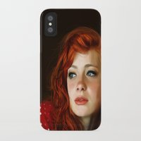 redhead iPhone & iPod Cases featuring RedHead by Allaa Adel