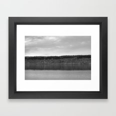 Along The Hudson Framed Art Print