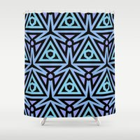 technology Shower Curtains featuring Alien Technology by Lyle Hatch