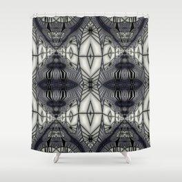 Black Rum & Diamonds Shower Curtain