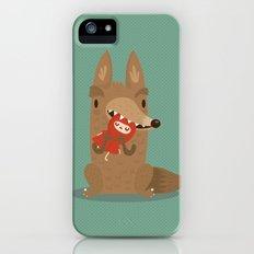 Poor little red iPhone (5, 5s) Slim Case