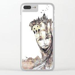 Ciudad fantasma Clear iPhone Case