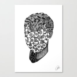 Eyesface Canvas Print